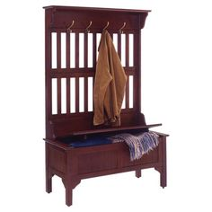 Found it at Wayfair - Mountain City Hall Tree Full Storage Bench