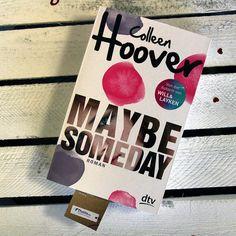 """""""Maybe Someday"""" von Colleen Hoover liegt seit neustem auf unserem Schreibtisch!  Von Will und Layken waren wir schon hellauf begeistert, umso mehr freuen wir uns jetzt auf die nächste Geschichte! @dtv_verlag #thalia #thaliabuchhandlungen #maybesomeday #colleenhoover #books #instabook #welovebooks #neuerscheinung #BücherWG #dtv"""