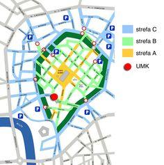 Kraków. Strefy ograniczonego ruchu i parkowania  http://apartamenty-florian.pl/krakow/przewodnik