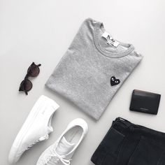 "2,472 Likes, 57 Comments - Wouter Kaan (@wouterkaan) on Instagram: ""I never get tired of these essentials : #commonprojects #commedesgarcons #scotchandsoda #aceandtate"""