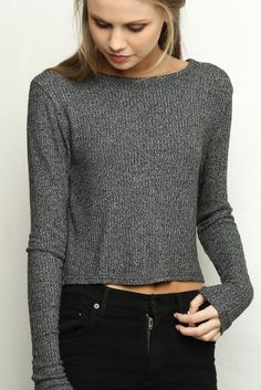 Brandy ♥ Melville | Breanne Knit Top - Knits - Tops - Clothing
