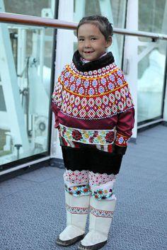 Ukkusissat girl in traditional costume | Flickr – Condivisione di foto!