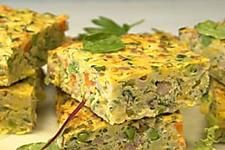 This simple zucchini slice is the perfect weeknight meal