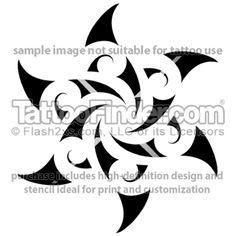 TattooFinder.com: Wegmans Star tattoo design by Wiremu Barriball, Maori, tribal, Polynesian