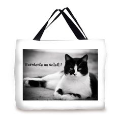 Sac de plage chat collection chat dolly texte