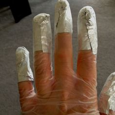 Add some hair dye stretchy gloves over the OPI foil wraps, you can still do stuff including using your iPhone as they hold the foils in place for your 15 mins wait :)