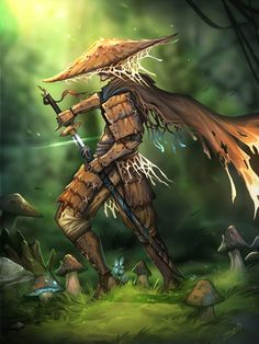 Fantasy Character Design, Character Design Inspiration, Character Art, Character Ideas, Fantasy Rpg, Fantasy Artwork, Samurai Warrior, Necromancer, Looks Cool
