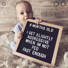Monthly Baby Photos, Baby Boy Photos, Cute Baby Pictures, Newborn Pictures, Monthly Pictures, 8 Month Old Baby, Baby Messages, Milestone Pictures, Baby Letters