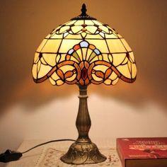Lampe de chevet de chambre européenne lampe Tiffany salon den