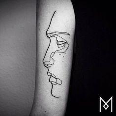 Tattoo minimal geometric