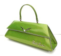 Couture Vintage Car inspired Handbag Made In by RevampProductions, $350.00