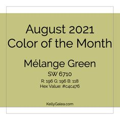 August 2021 Color of the Month & Energy Reading. Use the Staying Power of this energy & consider fresh perspectives to powerfully shift your life.