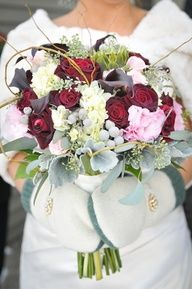 winter bridal flowers - Google Search
