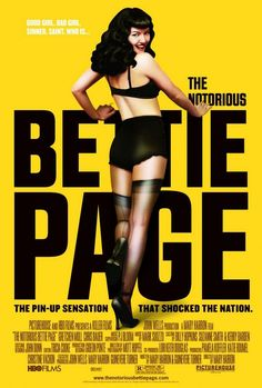 "MP018. ""The Notorious Bettie Page"" American Movie Poster by And Company (Mary Harron 2006) / #Movieposter"