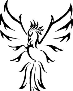 Tribal Phoenix Tattoos (17)
