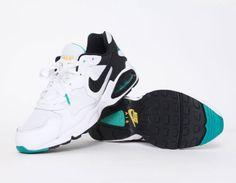349416d8066 Nike Air Max Triax 94 White   Black – Turbo Green