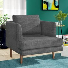 Modern Furniture and Decor for your Home and Office Club Chairs, Lounge Chairs, Room Chairs, Modern Rustic Interiors, Extra Seating, Toss Pillows, All Modern, Modern Living, Side Chairs