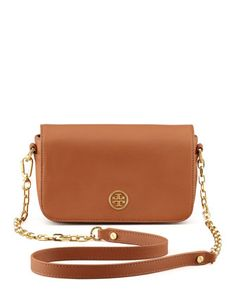 Robinson Mini Chain-Strap Bag, Luggage by Tory Burch at Neiman Marcus.  COULD THIS BE ANY MORE PERFECT