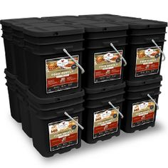 Advanced Survivor » Wise Food | 2160 Servings Emergency Food Package Introducing our new formulation with lower sodium and trans fat. 6 month supply – 3 servings of food per day for 4 adults or 2 adults and 4 children.