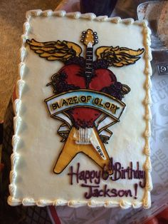 Bon Jovi Cake! From Market of Choice, Eugene, OR
