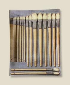 John Derian pain brushes tray, $178; wish list please.