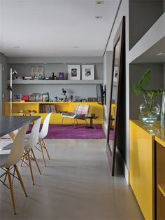 yellow joinery