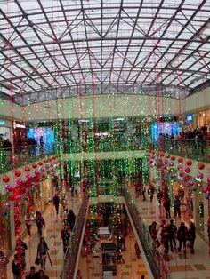 Christmas green lights Santa Fe 2014