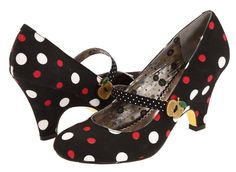 Poetic License Shoes.  PL always make gorgeous girly, vintage style shoes.