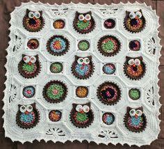 Reserved for Tracey Dispoto Owl Crochet Baby Blanket by WiggleButtsJC on Etsy https://www.etsy.com/listing/122944057/reserved-for-tracey-dispoto-owl-crochet