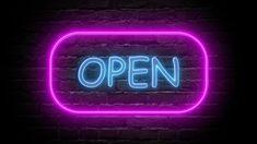 Wallpaper Iphone Neon, Dont Touch My Phone Wallpapers, Lit Wallpaper, Butterfly Wallpaper, Orange Led Lights, Blue Neon Lights, Neon Open Sign, Open Signs, Logo Online Shop
