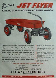 Jet Flyer Wagon Plastic Boats Animals Soldiers Vintage 1940s Original Toy Ads | eBay