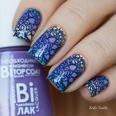 This stamping plate has elegant and lacy designs to give your nails the amazing…