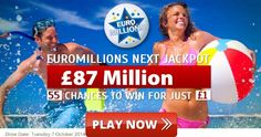 EuroMillions is the biggest lottery game in Europe! Play EuroMillions Now to Win Huge Jackpot Prizes. This is Your chance to enter EUROMILLIONS the BIGGEST Lottery in Europe today