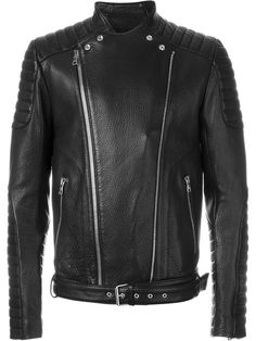 BALMAIN Biker Jacket. #balmain #cloth #jacket