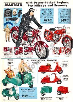 Sears, Allstate ad.