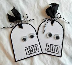 Spooky tag ideas