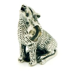 Redbalifrog Howling Wolf - Redbalifrog Beads
