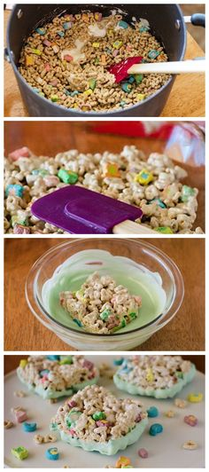 No-Bake Lucky Charms Treats