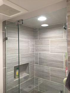 Smallest Bathroom with Shower Fresh Small Bathroom Frameless Shower Door Installation Wayne Nj Bathroom Shower Doors, Small Bathroom With Shower, Glass Bathroom, Modern Bathroom, Bathroom Ideas, Shower Ideas, Kohler Shower, Downstairs Bathroom, Bathroom Remodeling