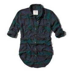 Abercrombie & Fitch Benni Flannel Shirt