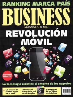 Título: Business: Negocios en el Peru / Autor: Business / Año 2015 / Código: REV/658.83/B95/21