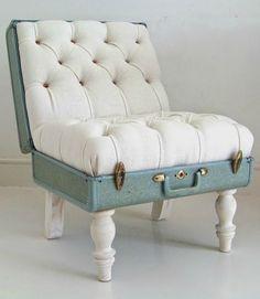 Creative design - Suitcase chair