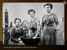 Sisters Corrie, Betsie, Nollie Ten Boom