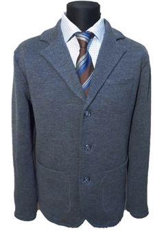 Knitted jacket. Трикотажный пиджак без подклада. Размер 52. ipryanik.ru