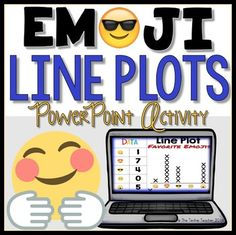 Kids are obsessed with emojis!  They will have a blast manipulating the different emojis with these digital line plot activities.                                      This PowerPoint activity is intended for practicing or reviewing line plot graphing when the slideshow is in editing mode, not presentation mode.Slide 1: Title PageSlide 2: DirectionsSlides 3-5: Students use the data chart and drag the Xs to form a line graphSlides 6+7: Students add their own data and create a line plot graph.