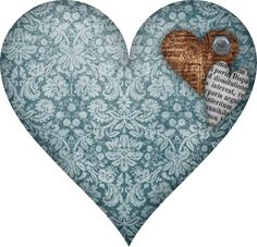 . Heart With Wings, I Love Heart, Happy Heart, Image Bleu, Valentine Words, Cartoon Elephant, Decoupage Vintage, Scrapbooking, Love Blue