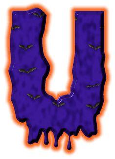 Alfabeto de murcielagos...U