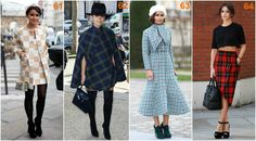 Miroslava Duma plaid Miroslava Duma, Ikon, Plaid, Pants, Fashion, Gingham, Trouser Pants, Moda, Fashion Styles
