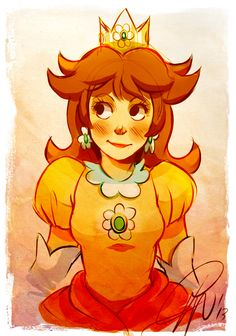 Princess Daisy by LillayFran.deviantart.com on @deviantART