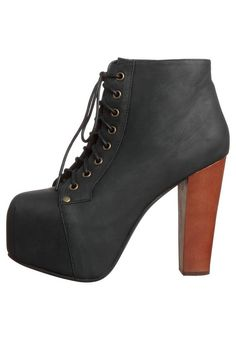 Popular Women Spring/Autumn Ankle Boots Elegant Platform Round Toe Spike Heels Boots Customizable Black Plus Size Shoes Woman $167.97   #love #style #cool #pretty #model #styles #vintage #instafashion #beautiful #cute #streetstyle #instastyle #swag #iwant #beauty